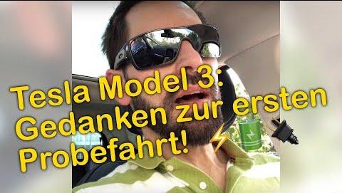 Kolumne: Es muss ein Tesla sein… Teil 5 – Die erste richtige Probefahrt!