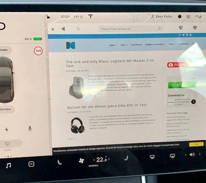 Tesla V10: 2019.32.10 und 2019.32.11 auch in Österreich – meine ersten Eindrücke