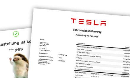 Model 3 Bestellung, Leasing, Versicherung, VIN & Liefertermin