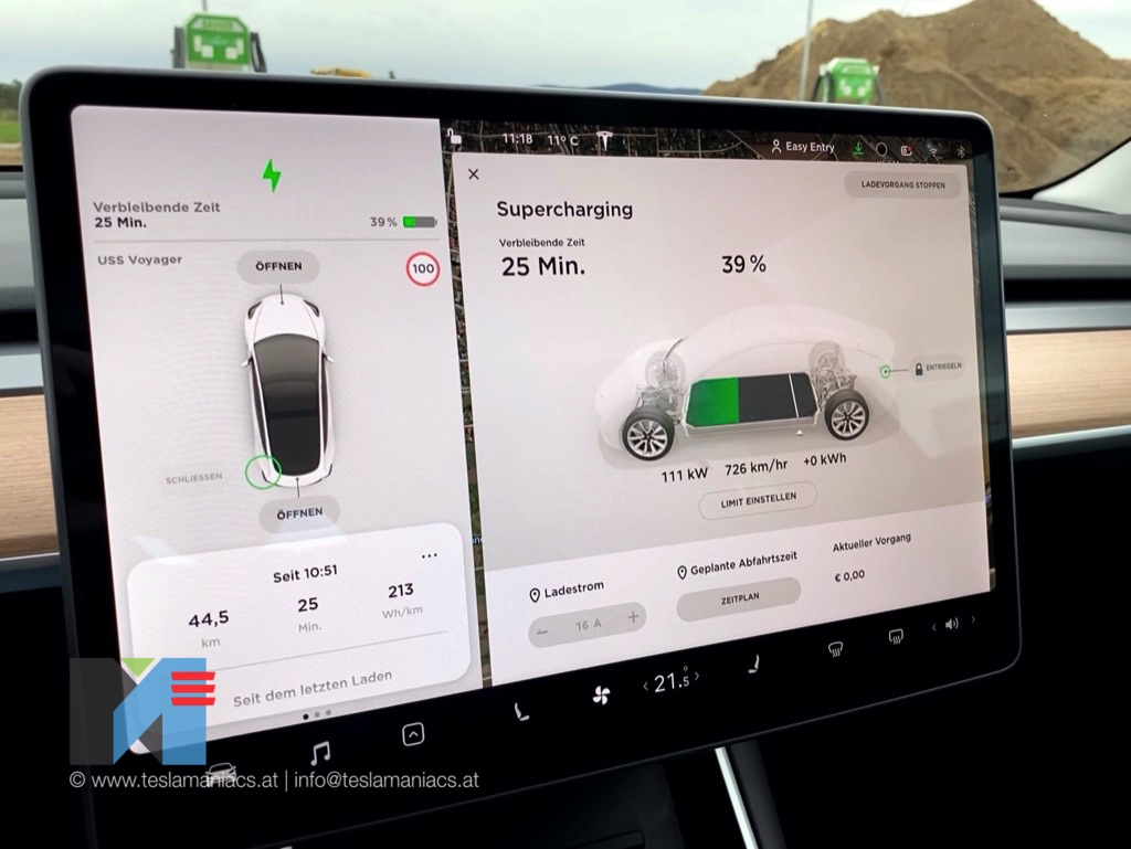Tesla Supercharger Wr. Neustadt