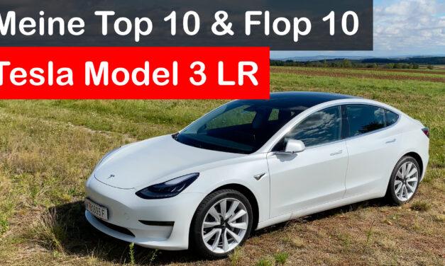 10 Tops, 10 Flops: Mein Tesla Model 3 nach 13000km