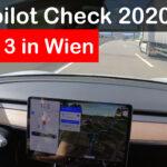 Autopilot Testfahrt mit Tesla Software 2020.40.3