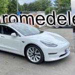 Chromedelete am Tesla Model 3